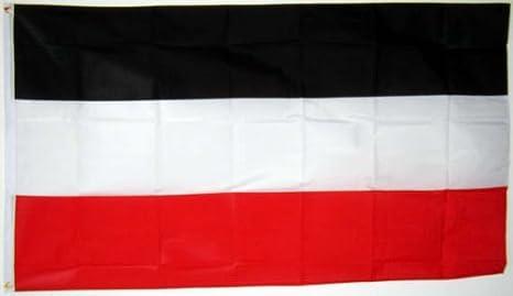Bandera Bandera Imperio Alemán 1870-1919 90x150cm: Amazon.es: Deportes y aire libre