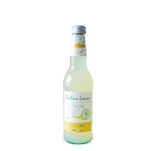 Bottega Baci Organic Sicilian lemon soda 355mlX12 this Organic Sicilian Lemon Soda by Bottega Baci