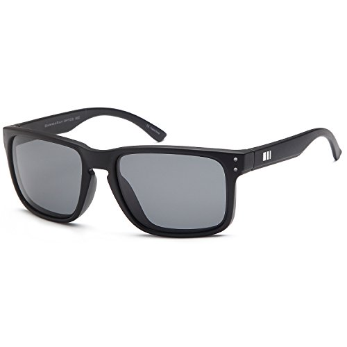 GAMMA RAY Polarized UV400 Wayfarer Sunglasses with Shatterproof Nylon - Oakley Fake Sunglasses