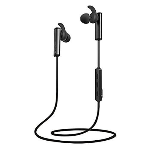 Wireless Bluetooth Headphones, Syllable Workout Earbuds Bluetooth Magnetic Stereo in-Ear Earphones, Built-in Microphone Rich Bass IPX4 Splash Proof Noise Cancelling Secure Fit for The Gym, Running...