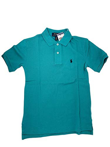(Polo Ralph Lauren Boys Classic Fit Mesh Polo Shirt (Large (14-16), Western Turquoise) )