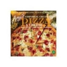 Corn Crust Three Cheese Pizza by Amy's Kitchen, 14.5 oz (8)