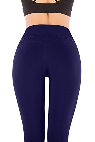 1bc5e960e5456 ... IUGA Yoga Pants with Pockets Workout Leggings for Women 4 Way Stretch  Yoga Leggings with Pockets ...