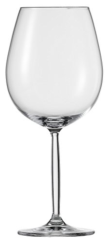 Schott Zwiesel Tritan Crystal Glass Diva Living Stemware Collection, Chardonnay, White Wine Glass, 15.5-Ounce, Set of 6 ()