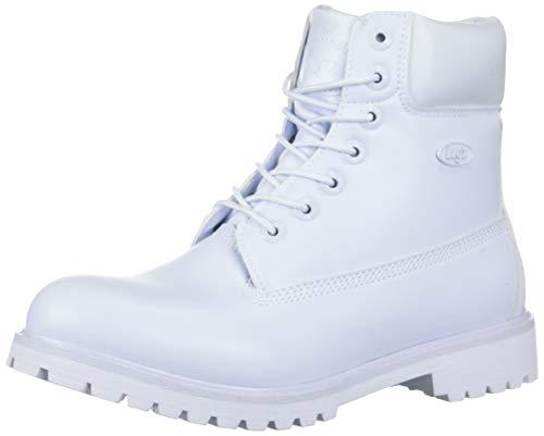 Lugz Men's Convoy Fashion Boot, White, 12 D US