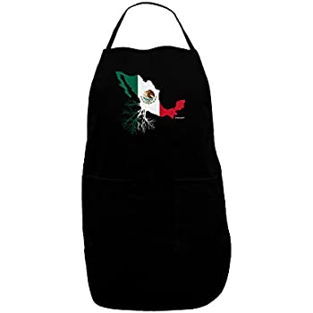 TooLoud Mexican Roots Mexico Outline Mexican Flag Infant T-Shirt Dark