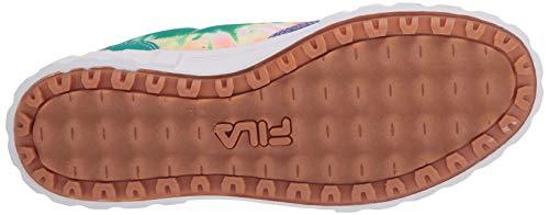 Fila Women's Sandblast Low Sneaker, MULT/WHT/WHT, 6.5