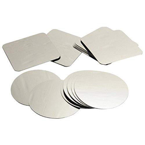 Constructive Playthings HEB-763 Plastic Mirrors - Squares/Circles 16 pc. Set