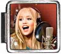 Hannah Montana Italian Charm Bracelet Jewelry Link A10065 (Montana Hannah Jewelry)