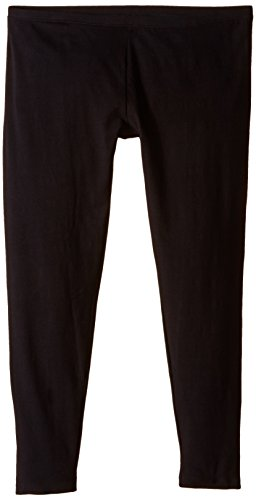 Hue Women's Plus-Size Cotton Legging, Black, XX-Large