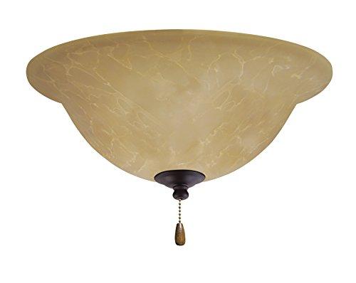 (Emerson Ceiling Fans LK71LEDORB Amber Parchment LED Light Fixture for Ceiling Fans, LED)