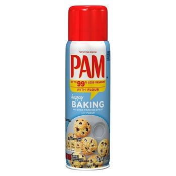 Pam No Stick Cooking Spray Baking 5 Oz    Pack Of 6