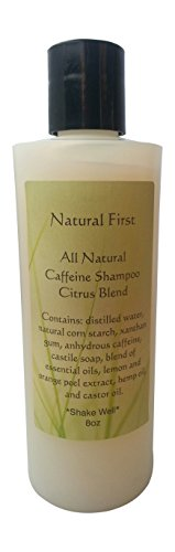 "Natural First Caffeine ""All Natural"" Citrus Blend Shampoo..."