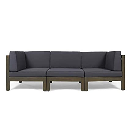 Amazon.com : Great Deal Furniture Dawson Outdoor Sectional ...