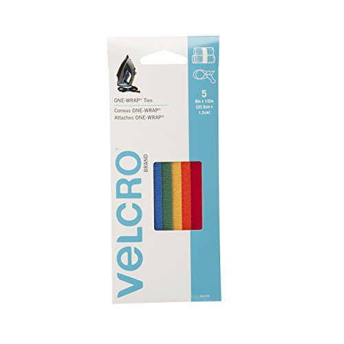 VELCRO Brand - ONE-WRAP Cable Management, Self Gripping Cable Ties, Reusable, 8