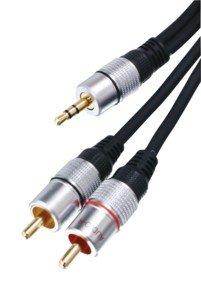 speical offer presenting new arrivals HQ HQSS3458/10 - Cable audio adaptador Jack a RCA (10 metros)