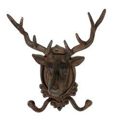 Home Decor Flawed Elk Deer Head Wall Hook Closeout