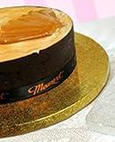 Enjay Round Cake Drum - 16'' - Gold