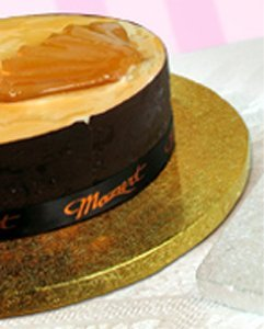 Enjay Round Cake Drum - 16 - Gold B1216RG-2
