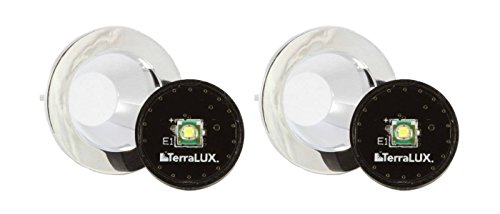 Terralux TLE-5EX MiniStar2 LED Upgrade Conversion Kit for 2 AA Mini MagLite (2 Pack)