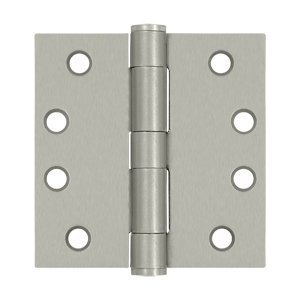 Deltana S44HD15 HD Value Choice for Indoor Applications Steel 4-Inch x 4-Inch Square Hinge