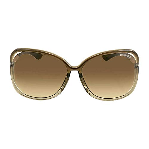 Tom Ford Raquel FT0076 Sunglasses-38F Bronze (Gradient Brown Lens)-63mm (Tom Ford Sunglass Lens)
