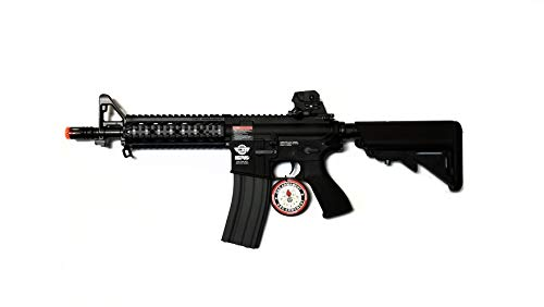 g&g airsoft combat machine m4 raider high-performance full metal gearbox aeg rifle w/ integrated ras and crane stock(Airsoft Gun) (Best Hunting Rifle Sling 2019)