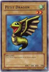 Yu-Gi-Oh! - Petit Dragon (LOB-024) - Legend of Blue Eyes White Dragon - Unlimited Edition - Common ()