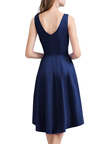 Rockabilly Ball Navy Da Audery Abito Vestito Cocktail Swing 1950s Homrain Retro vxzF00
