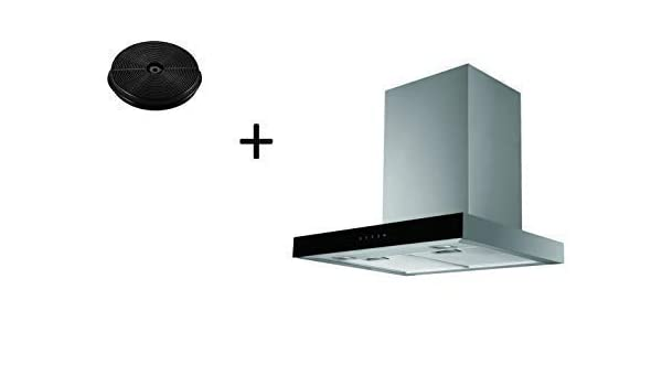 respekta CH44060-60GA+MIZ0023 - Campana extractora (60 cm, incluye filtro de carbón activo): Amazon.es: Grandes electrodomésticos