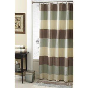 CroscillR Fairfax Barron Taupe Shower Curtain