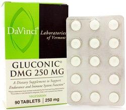 DaVinci Laboratories of Vermont Gluconic DMG Chewable, 90 Count