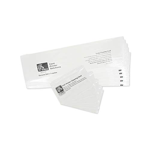 Zebra P330i & P430i Cleaning Card Kit (105912-913)