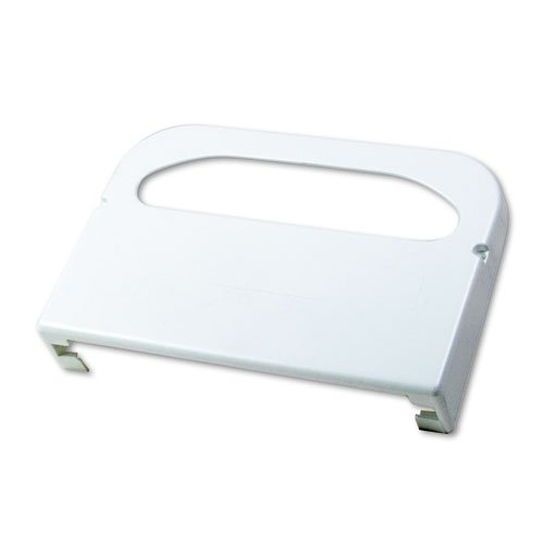 Boardwalk KD100 Wall-Mount Toilet Seat Cover Dispenser, Plastic, White (Plastic Wall Seat Toilet Mount)