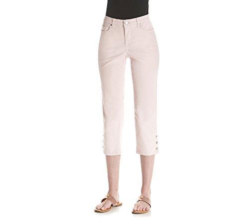 Bandolino Selene Skinny Twill Capris Ballet Slipper Pink 12