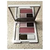 CLINIQUE eye shadow duo Morning Java & Pink Chocolate with Smoldering Plum blush