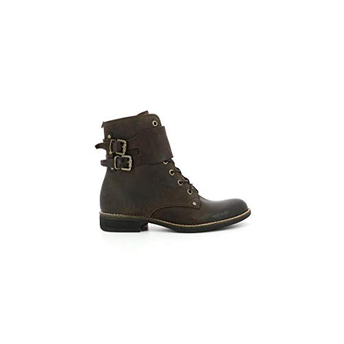 Brown Botines Femme Smile Dark Kickers Z5IgxEqPn
