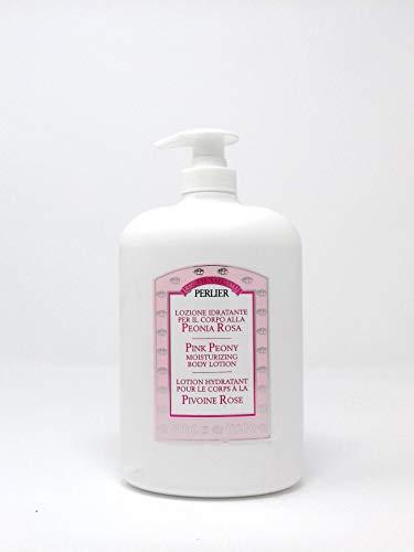 (Perlier Body Lotion, Pink Peony, 16.9 fl. oz.)