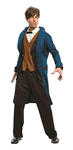 (Rubie's Costume Men's Fantastic Beasts Where To Find them Deluxe Newt Scamander, As Shown,)