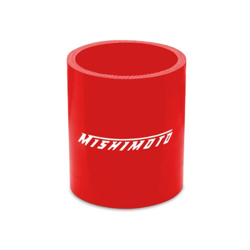 Red 2.5 x 1.25 Mishimoto MMCP-25125RD Straight Silicone Coupler