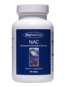 Allergy Research Group Nac Enhanced Antioxidant Formula 90 Tabs