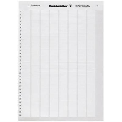 Weidmüller 1695711044 blanco impresora de etiqueta adhesiva ...
