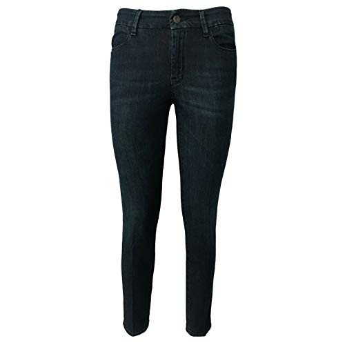Classic In Italy Atelier Cigala's 314 Mod Skinny 15 Jeans Made Blu Scuro Donna 1Z1Pzq7