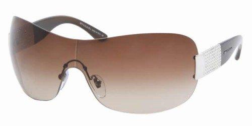 Bvlgari 6030B 341/13 Dark Gradient Brown 6030B Visor - Bvlgari Mens Sunglasses