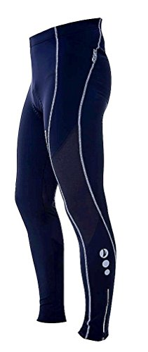4ucycling-Mens-Black-Silicone-Gel-Padded-Compression-Tights
