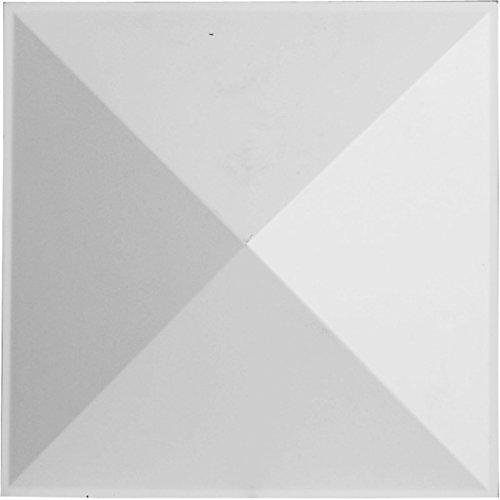 Ekena Millwork WP12X12SKWH Sellek Design Decorative 3D Wall Panel White