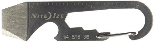 Nite Ize DoohicKey Key Tool Keychain Multi-Tool, Stainless, - Bolt Eye Box