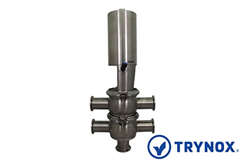 Trynox Sanitary Stainless Steel Single Seat Divert Valve TT 316L 2'' Sanitary Fitting by Trynox