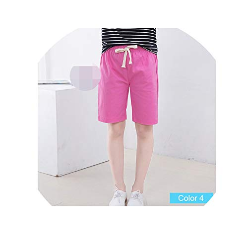 - Paramise Summer Girls Shorts Kids Candy Color Shorts BoysCotton Beach Shorts 10Color,Color4,7T