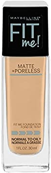 Maybelline Makeup Fit Me Matte + Poreless Liquid Foundation